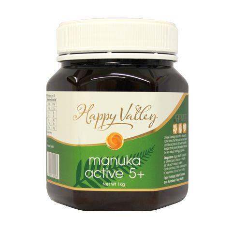 New Zealand Active/UMF 5+ Manuka Honey – Happy Valley – 1kg | Shop New Zealand