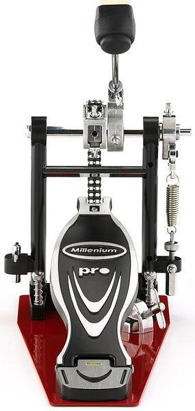 Millenium PD-122 Pro Series single bass drum pedal - aluminium hinge, steel floor plate