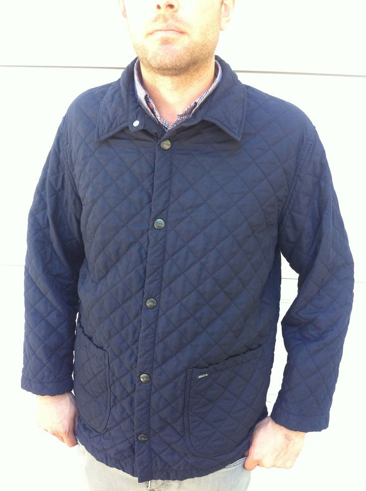Beretta navy blue diamond quilted jacket by Therichesofthepoor on Etsy https://www.etsy.com/listing/112181204/beretta-navy-blue-diamond-quilted-jacket