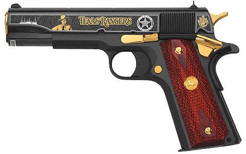 Texas Ranger Tribute Colt .45 Pistol