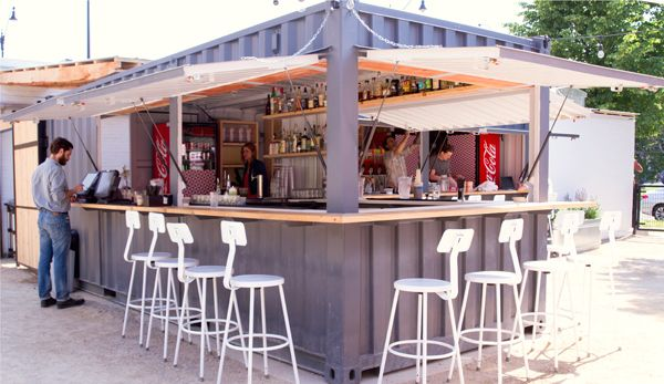 25 best ideas about container bar on pinterest container restaurant pop up restaurant and - Shipping container homes chicago ...