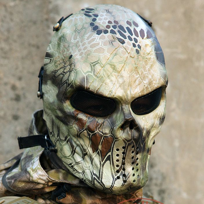 Strike fear into your opponents with one of these Tactical Airsoft Masks!       Pattern Type: PrintFabric Type: BroadclothSeason: SpringSeason: SummerSeason: Au