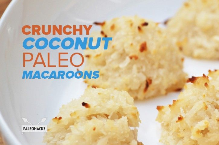 Crunchy Coconut Paleo Macaroons