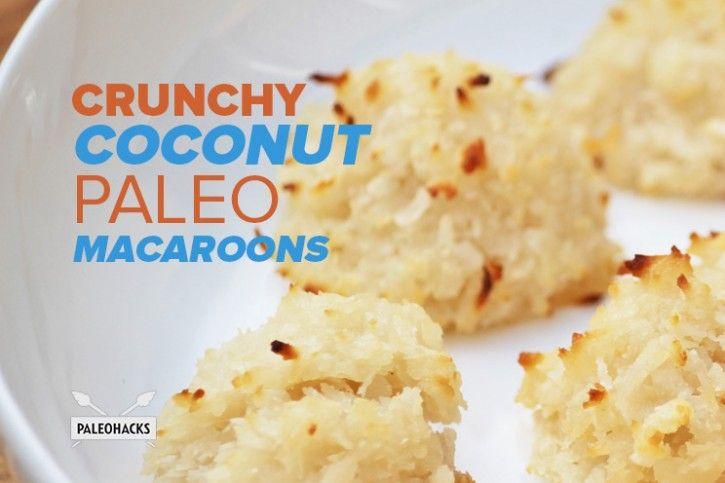 Crunchy Coconut Paleo Macaroons