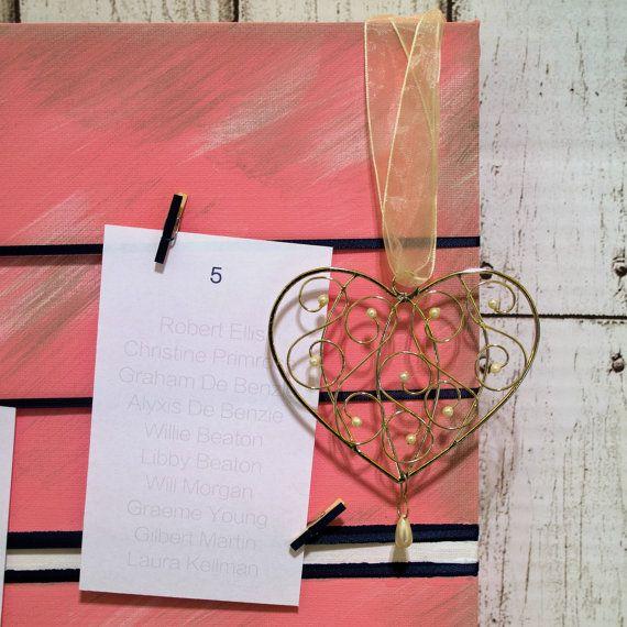 Wedding Table Plan Display Board. Pink Gray and Navy. by kaetoo #weddings #handmade #etsyau #EtsyResolution #shophandmade #buyhandmade #shopping
