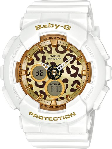 BA120LP-7A2 - Baby-G White - Womens Watches | Casio - Baby-G