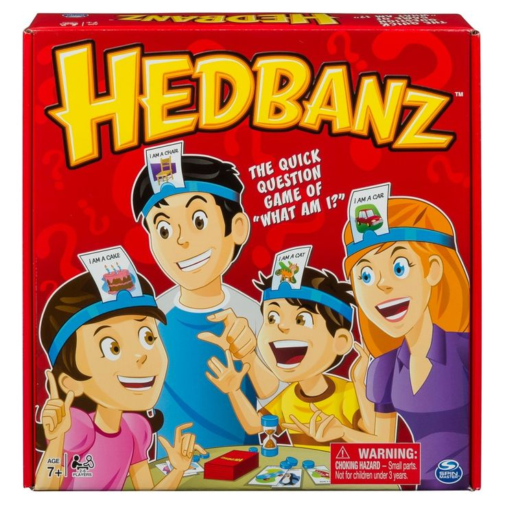 Hedbanz Original Game Guessing games for kids, Family
