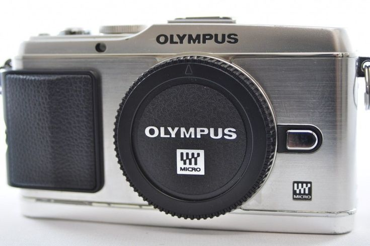 [VG] OLYMPUS PEN E-P3 12.3 MP Silver Body Mirrorless Digital Camera #Olympus