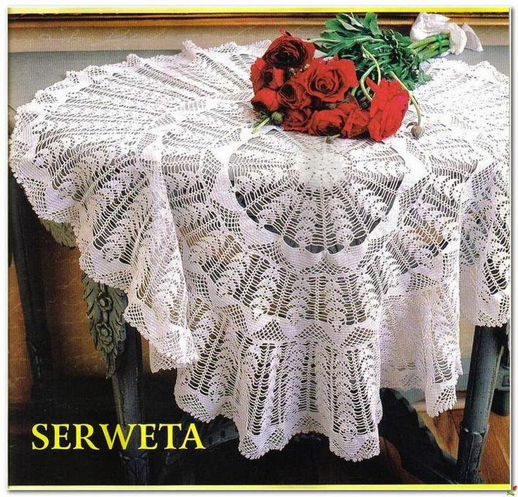 Crochet and arts: crochet beautiful tablecloths