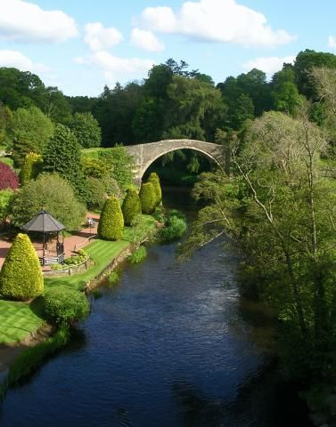 """'Alloway' is a former Scottish village that is now a suburb of Ayr. It is best known as the birthplace of Robert Burns and the setting for his poem """"Tam o' Shanter"""".The former village and surrounding area was incorporated into the former Royal Burgh of Ayr in 1935, and the extended village is now a suburb of Ayr on the River Doon."""