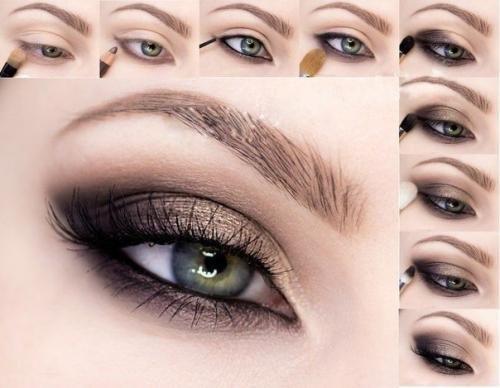 Макияж: кошачий глаз.   Макияж глаз