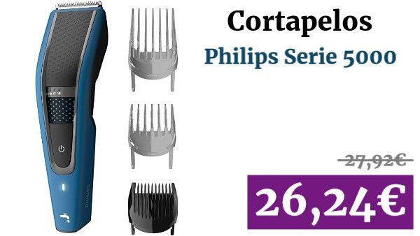 Philips Serie 5000 Hc5612 15 Cortapelos Con Cuchillas Acero Inoxidable 28 Ajustes De Longitud 75 Min De Uso Sin Cable Inc En 2020 Acero Inoxidable Acero Cuchillas