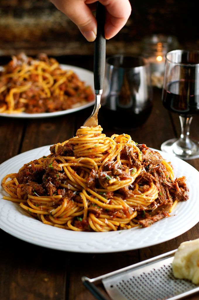Beef Ragu Pasta Sauce - a classic Italian dish with deep, rich flavours. Fast prep, slow cook, made with pantry ingredients!