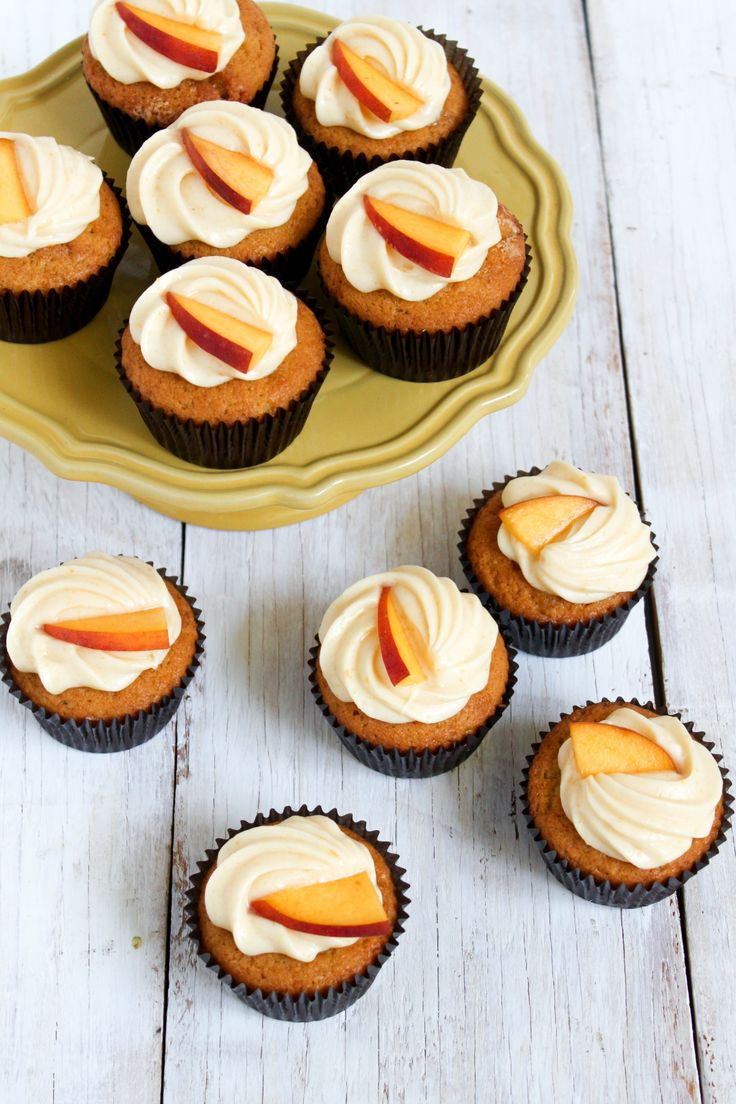 must try peaches and cream cupcakes; super moist, fluffy and rich cupcakes made with freeze dried peach powder and peach puree (batter also has plenty of butter and heavy cream); topped with a cream cheese buttercream flavored with freeze dried peach powder