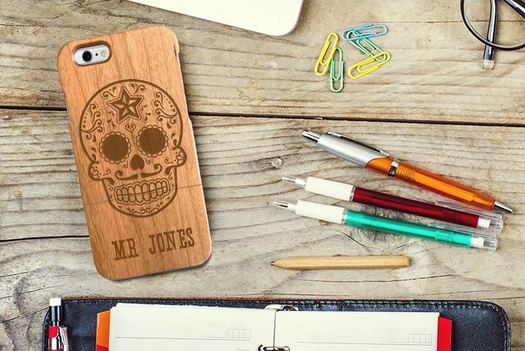 Personalised Wooden Phone Case - iPhone & Samsung - 21 Designs!