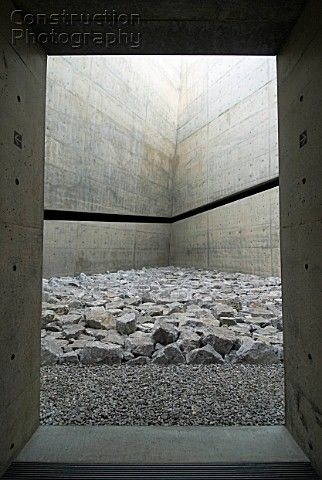 Visions of an Industrial Age // ChiChu Art Museum on Naoshima Island in Japan designed by Tadao Ando