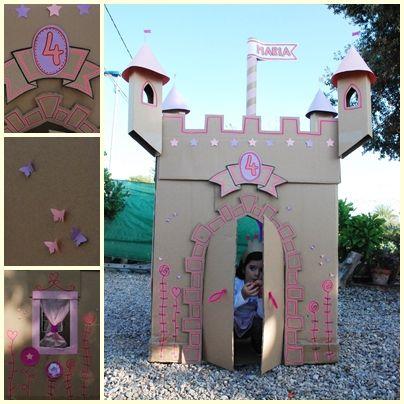 comohacer castillos de carton - Buscar con Google