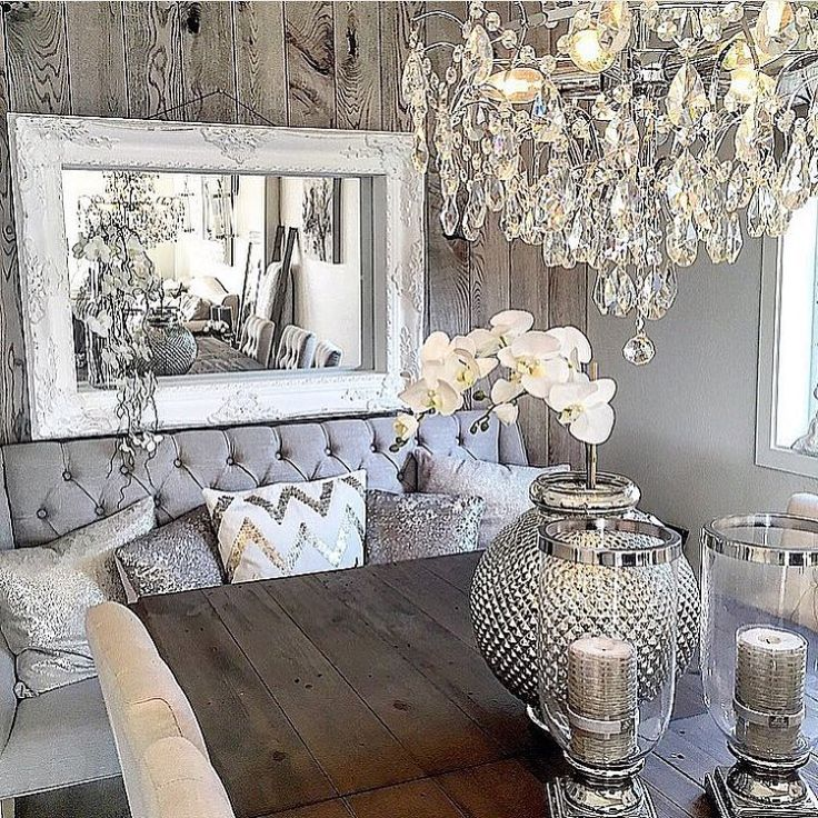 50 Cool And Creative Shabby Chic Dining Rooms: 461 Best Nail Salon Decor Images On Pinterest
