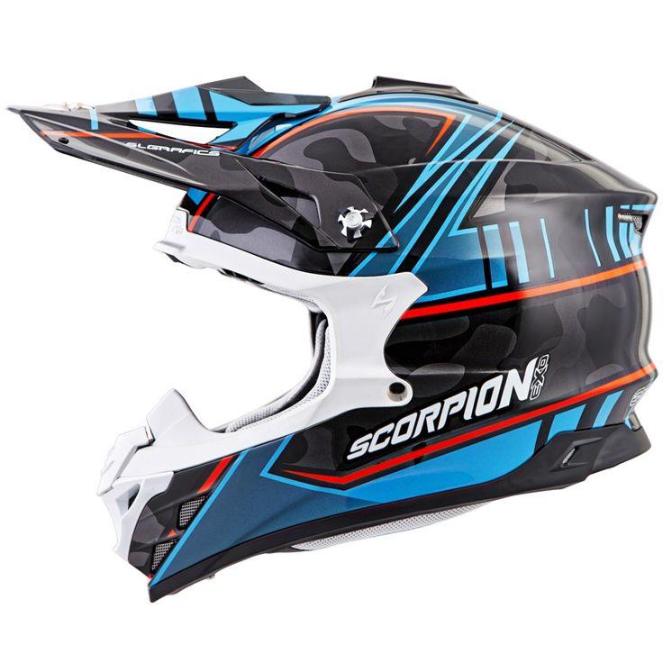 Scorpion VX-35 MIRAMAR (BLU) DOT+ECE *Snow Compatible*