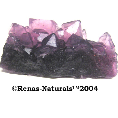 handmade Amethyst Designer Soap Crystall Original  ©Renas-Naturals™2004   handgefertigtes Amethyst Designer Seifen Kristall Unikat  8,99 Euros
