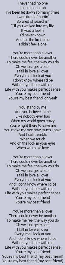 Tim McGraw . My Best Friend