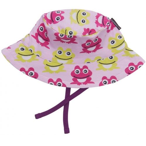 Frogs Pink Sun Hat