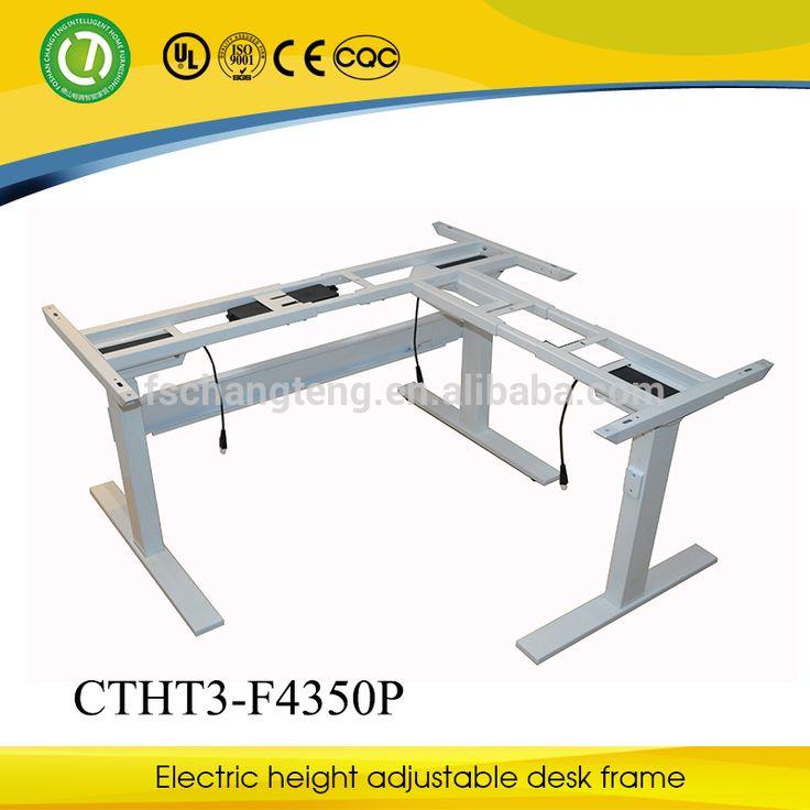 Adjustable Laptop Table--Electric Height Adjustable Design Office Desk