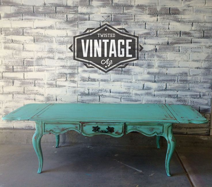 Shabby chic vintage french provincial coffee table for sale! https://www.facebook.com/Twistedvintageaz #shabbychicfurnitureforsale