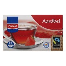 Perfekt Aardbeien thee 20 x 1 kop - Boni