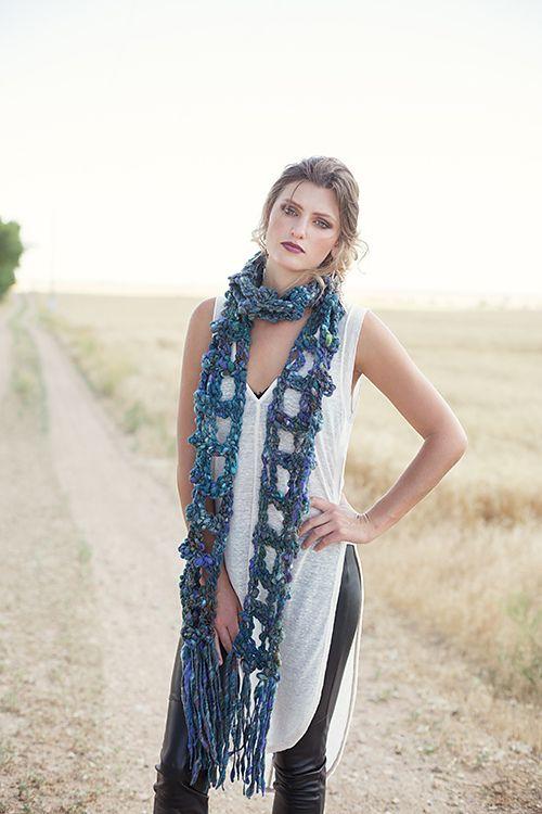Mejores 86 imágenes de Crochet scarves or cowls en Pinterest ...