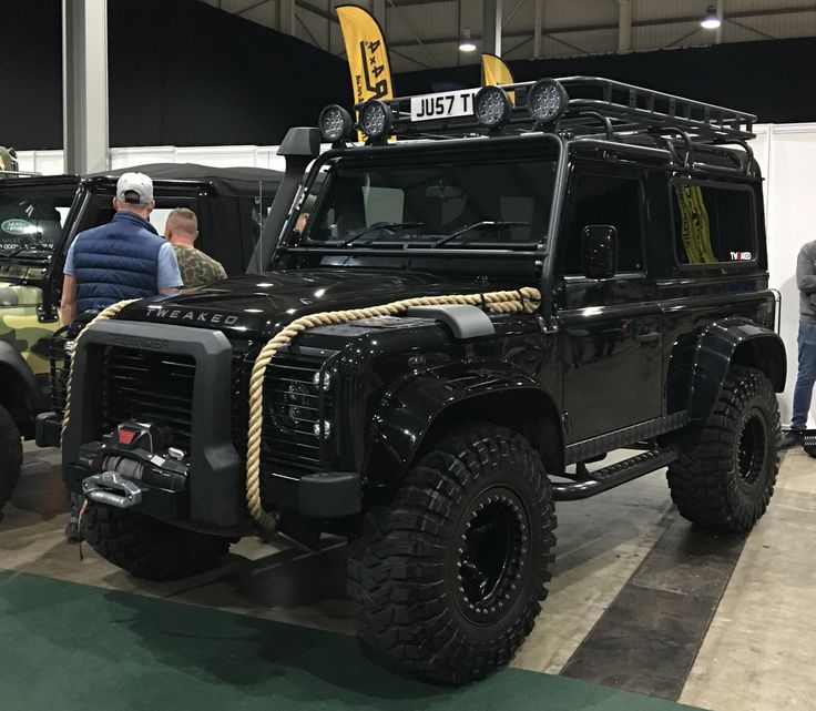 "Land Rover Defender 90 By Tweaked ""Spectre Edition"