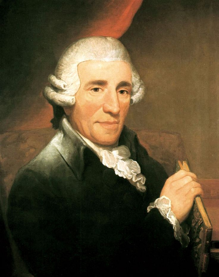 "Joseph Haydn; one of the greatest composers of the Classical period, he is also often referred to as the ""Father of the Symphony"""