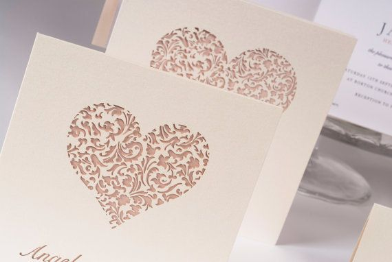 Hey, I found this really awesome Etsy listing at https://www.etsy.com/listing/194429423/lace-heart-laser-cut-wedding-invitation