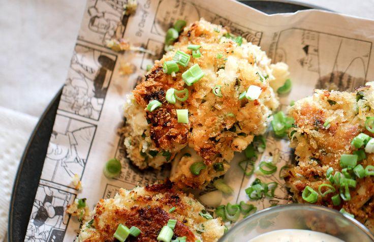 Cajun Crab Cakes with Jalapeno Remoulade