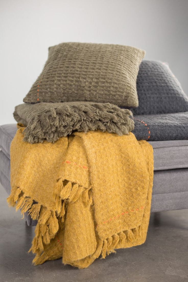 ... Mimosa plaid geel - Zuiver ...