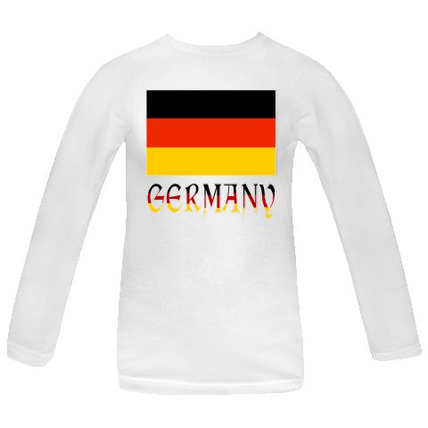 """@Auntie Shoe created this terrific design showing the Flag of Germany, or German Flag, with the name, or word, """"GERMANY"""" underneath. Word shows in the same colors (colours) as the German tricolor (tricolour) flag.  Wonderful for travelers who want to recall a trip, vacation or holiday to Germany. German-Americans and others of German ancestry will appreciate the image for honoring their ancestry and heritage. $21.99 http://ink.flagnation.com"""