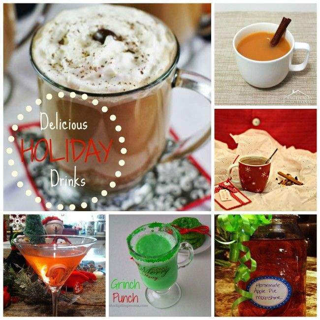 Holiday Recipe Roundup 10 Delicious Drinks Frugal And
