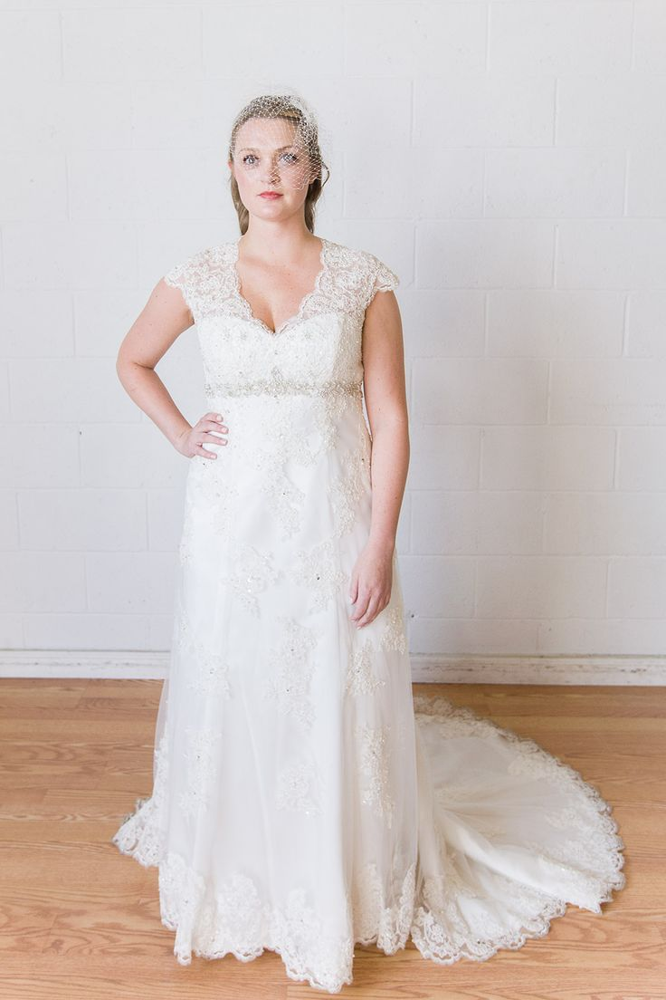 davids bridal t3299 wedding dress cap sleeves and illusion lace back
