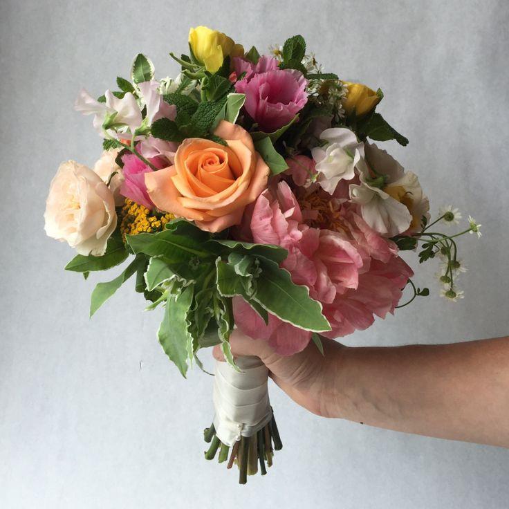 """""""The Garden"""" Bridesmaid Bouquet"""