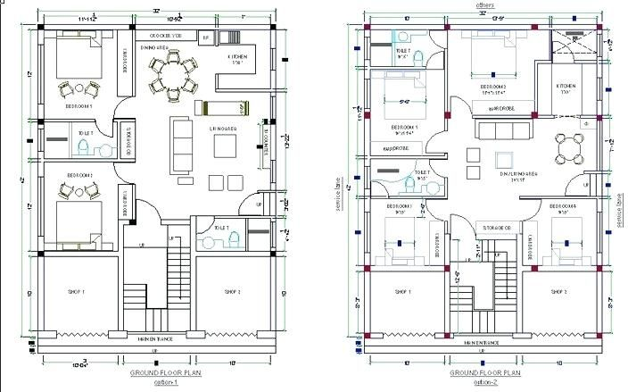 Using Autocad To Draw House Plansunique Using Autocad To Draw House Plans Or Plans Of Houses