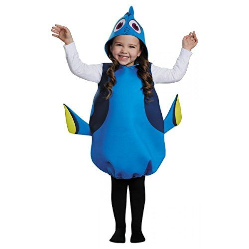Dory Classic Toddler Girls Child Kids Finding Dory Nemo Disney Costume Ages 46 ** Learn more by visiting the image link.