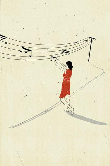 Playful Illustrations by Alessandro Gottardo