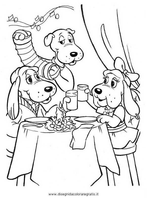 the pound puppies coloring pages - photo#45