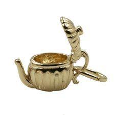 Teapot - movable Charm - chr-0959