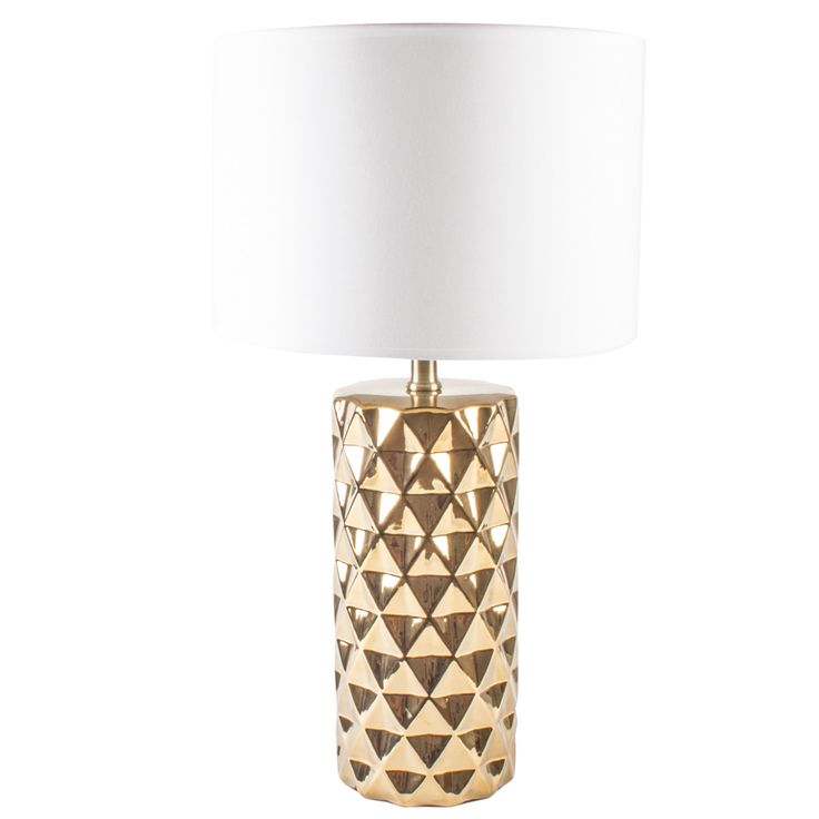Gold Stud Lamp