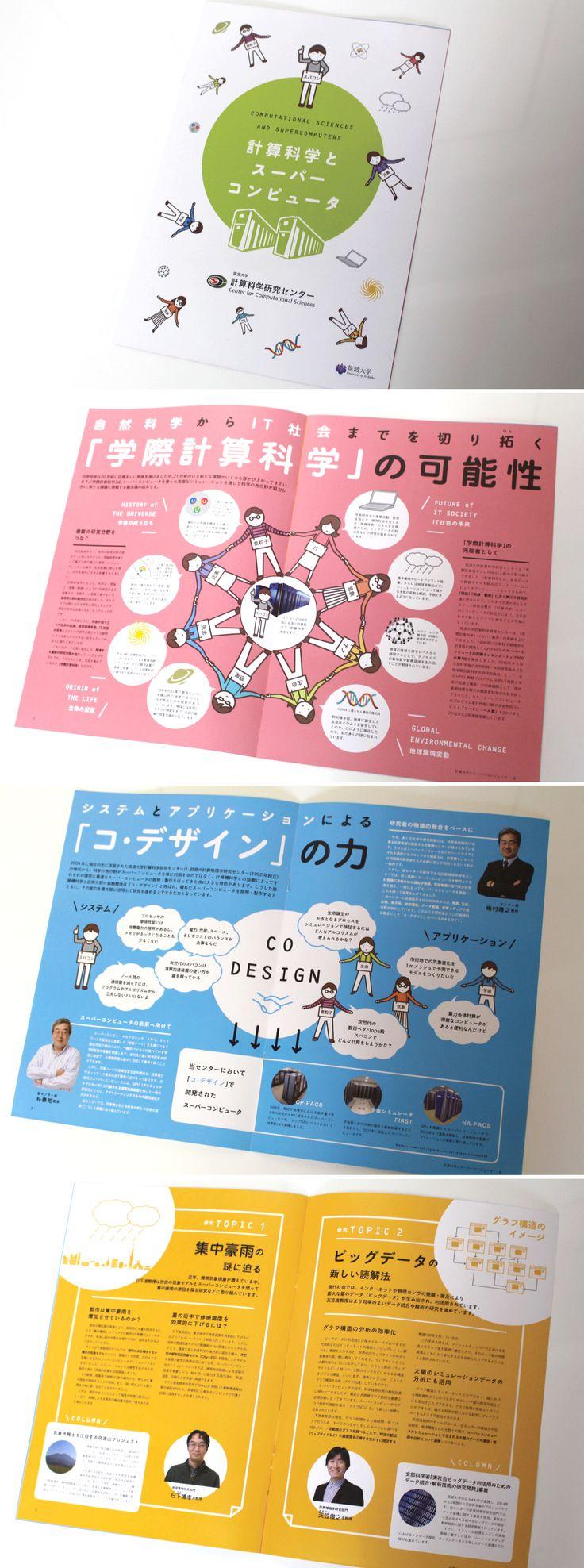 『計算科学とスーパーコンピュータ』ダイヤモンドグラフィック社(2015/3/17)筑波大学スパコン冊子デザイン