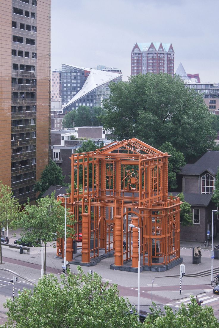 Monument Hofpoort Rotterdam