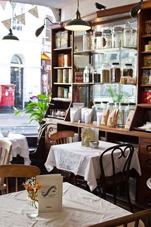 9. BLACK BIRD TEA ROOMS: This is a lovely quaint tea room nestled in the Laines and decorated in WWII vintage style with crisp white table cloths and chintzy china. Their homemade cakes are excellent with plenty to choose from. #BrightonShops http://www.blackbirdtearooms.com/