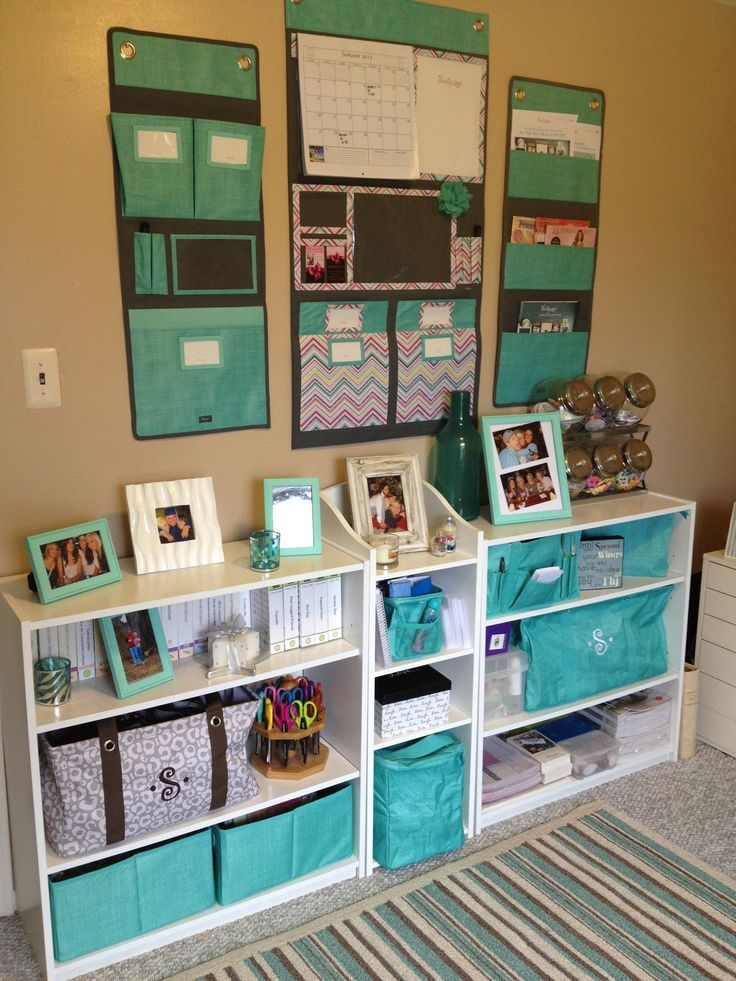 Thirty One Office Ideas 2019 my office/scrapbook room