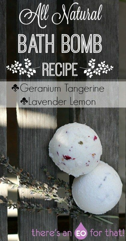 All Natural Bath Bomb Recipe - This all natural bath bomb recipe is quick and simple to throw together and uses all natural ingredients. They're very fizzy, aromatic, and are super luxurious!